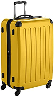 HAUPTSTADTKOFFER - Alex- Luggage Suitcase Hardside Spinner Trolley 4 Wheel Expandable, 75cm, yellow (B007AKCHV8) | Amazon price tracker / tracking, Amazon price history charts, Amazon price watches, Amazon price drop alerts