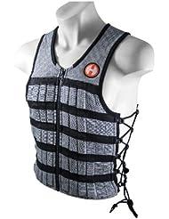 Hyperwear Hyper Gilet Pro mixte 4,5kg réglable Gilet lesté réglé pour séances de fitness