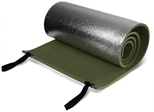 Ultraleichte Outdoor Camping Isomatte mit Aluminiumbeschichtung, 200 cm x 50 cm