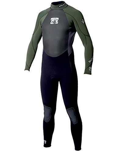 Body Glove Wetsuit Surf Stealth 5/4mm schw.-d.-grün Herren-ML (Surf-wetsuit-boot)