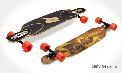 Loaded Dervish Sama Flex-1 Complete Longboard (Pro Build) by - Sama 1 Flex Dervish
