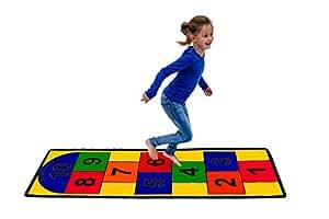 Hopscotch Play Mat Amazon Co Uk Toys Amp Games