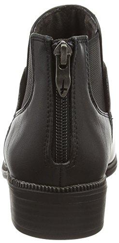 Tamaris 25043, Bottes Chelsea courtes, doublure froide femme Noir - Noir
