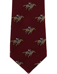 Horse Racing Silk Tie by Michelsons of London