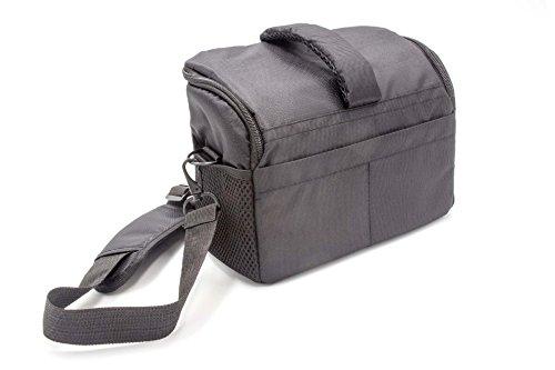 vhbw Universal Tasche 1640 schwarz für Kamera Pentax K200D, K20D, Q10, Q5, Q7 - Pentax Q10