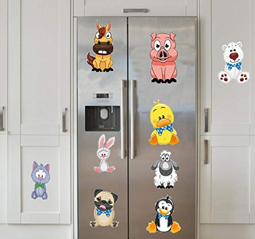 Farm Animals Pig Duck Cat Sheep Room Decoration Wall Decal Child Sticker Bedroom Living Room Mural -