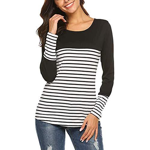 36. Damen Pullover,Räumungsverkauf Hohe Qualität Frauen Bluse in Übergröße  Kurzarm T-Shirt Shirt Tops Mode Sweatshirt Einfarbig Weiß schwarz 73d0a2934a