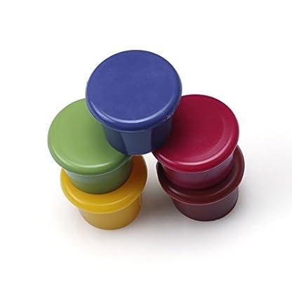 Edealing-5PCS-Silikon-Vakuum-versiegelt-Sekt-Champagner-Weinflasche-Saver-Stopper-Cap