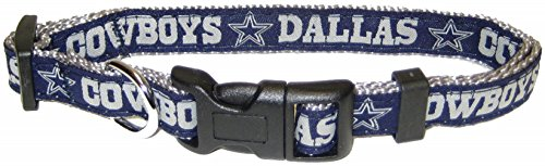 Pets First NFL Halsband. 32NFL-Teams verfügbar in 4Größen, robust, robust und langlebig NFL Haustier-Halsband. Fußball-Ausrüstung für die Sporty Pup. (Pet Nfl Bandana)