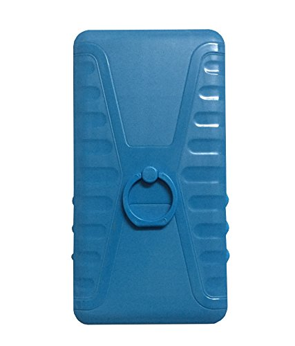 Zocardo Blue Back Cover For Xolo A600 with Back Ring stand for easy carrying of mobile  available at amazon for Rs.349