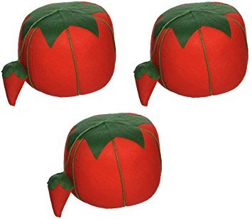 Zipperstop 1 Pack Dritz Dritz Large Tomato Pin Cushion (3 Pack) -