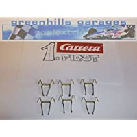 Greenhills Scalextric Carrera First double contact brushes/braids x 6 - NEW - G1135