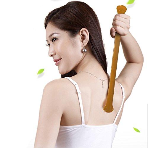 Preisvergleich Produktbild Fine Dragon 3er Faltbar Massagegerät Nacken Schulter Rückenkratzer Rückenmassage für Rücken und Kopf Kratzen Back Scratch