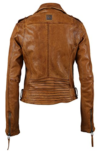 Freaky Nation Damen Jacke Rocket Braun (Brandy 8362)