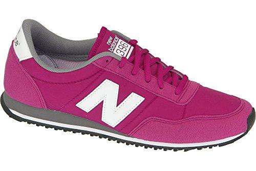 New Balance U396 D Unisex-Erwachsene Sneaker Grau-Rosa-Weiß