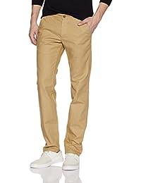 Symbol Men's Slim Fit Casual Trouser