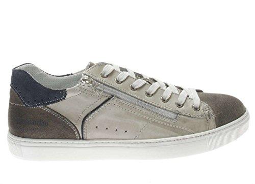 Nero Giardini Homme Sneaker P800271u 119 Sneaker En Cuir Blanc