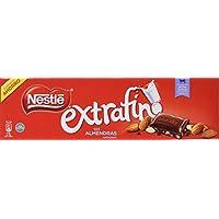 NESTLÉ EXTRAFINO Chocolate con Leche y Almendras - Tableta de Chocolate 300g