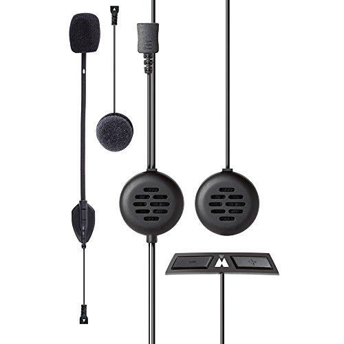 Midland BT Go Uni Interfono Moto Casco Bluetooth per Conversazioni Pilota Passeggero, Portata 200m, Universale per Tutti i Caschi, Audio Chiaro, Soppressione del Rumore DSP e Batteria di Lunga Durat