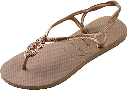 Havaianas Sandale, Flip-Flop, Damenschuhe 4135164 Luna Rot (ro-go 3581), EU 43/44