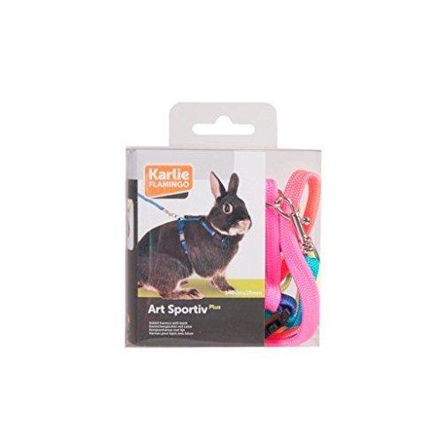 Karlie Geschirr Und Leine mit Motiv für Kaninchen, in 3 Farben