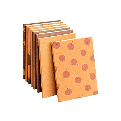 Tragbare Mini Notebook Crayon Tagebuch Buch Schreibwaren Schulbedarf, 6Stück