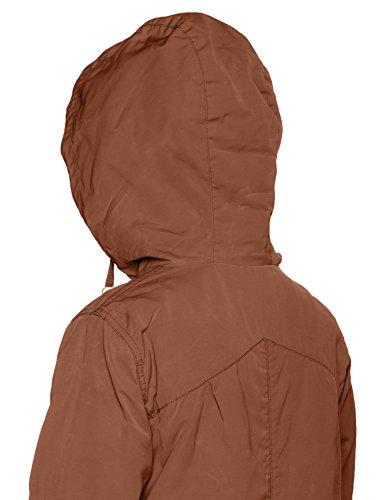 khujo Damen Jacke Navassa Washed Nylon Jacket Beige (Tapioca 551)