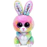TY 37212–Glubschi 's Beanie Boo' s Bubby Conejo con ojos, 15 cm, multicolor