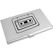 'Kassette' Visitenkartenhalter / Kreditkarte Geldbörse (CH00001405)