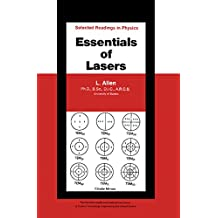 Essentials of Lasers: The Commonwealth and International Library: Selected Readings in Physics