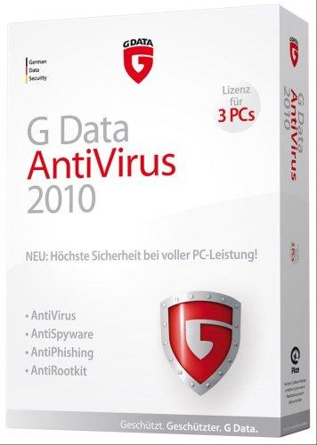 G Data AntiVirus 2010 3PC