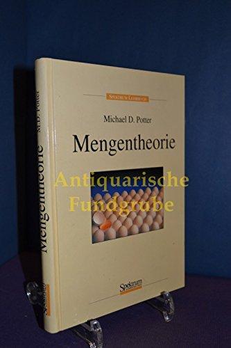 Mengentheorie. Aus dem Englischen übersetzt von A. Wittmüß.