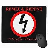 ncnhdnh Mousepad Custom Marilyn Manson Logo American Rock Band Painting Art Mouse Pads/Mouse Mat