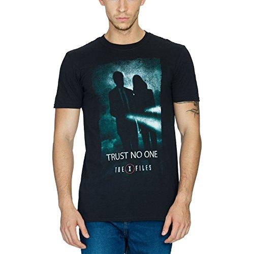 Akte X T-Shirt Trust No One Größe S (S Akte X)