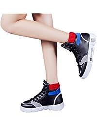 9b937c62d3 Subfamily Sneakers Alte Piatte da Donna Scarpe da Ginnastica Hip Hop  Sneakers di Tendenza Moda San