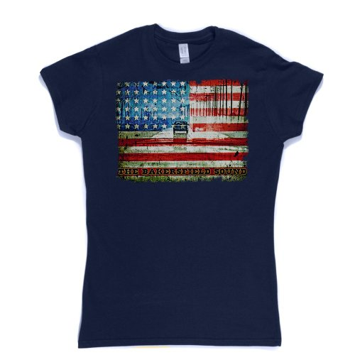 The Bakersfield Sound Womens Fitted T-shirt Marineblau