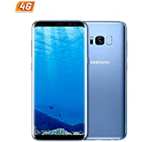 "Samsung Galaxy S8 64GB 5.8"" 12MP SIM-Free Smartphone in Coral Blue"