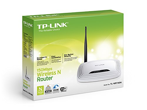 TP-Link TL-WR740N Wireless Router (white)