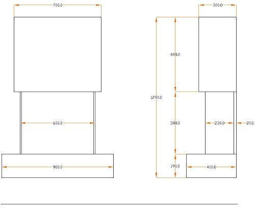 muenkel-Design-COMO-Chimenea-elctrica-opti-myst-Heat-Blanco-pizarra-beige-CUBIERTA-BLANCO-PURO-Sin-Calefaccin
