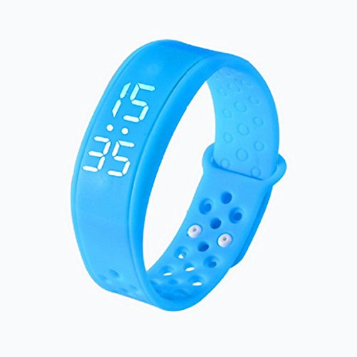 Fuibo Smartwatch, Kinder Aktivität Tracker Kids Schrittzähler Schrittzähler Fitness Band | Intelligente Armbanduhr Sport Fitness Tracker Armband (Blau)