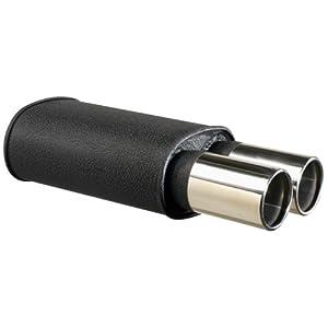 BlackBox Universal Sport-Schalldämpfer, rund, 2x90mm, Anschluss 2,5
