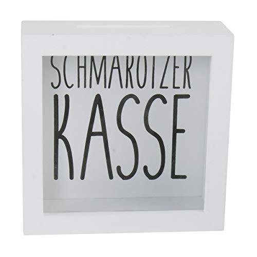 Hucha schmarotzer Caja de la madera