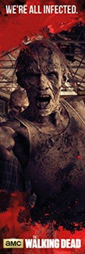 "GB Eye \""Zombies\"", \""The Walking Dead\""-Poster für die Tür, 53x153cm, Mehrfarbig"