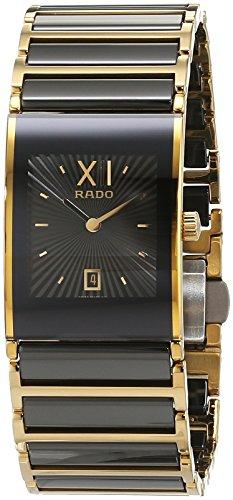 Rado 160.0788.3.017 - Reloj unisex, correa de cerámica color dorado
