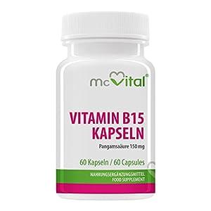 Vitamin B15 Kapseln – Pangamsäure 150 mg – 60 Kapseln