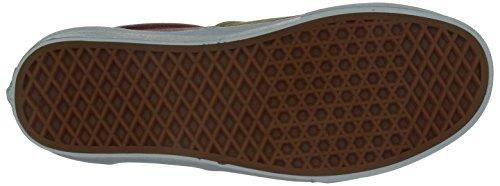 Vans U Era, Sneaker Da Donna Multicolore (kaki / Rosso)
