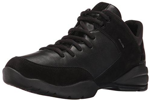 Geox D Sfinge A, Baskets Basses Femme Schwarz (BLACKC9999)