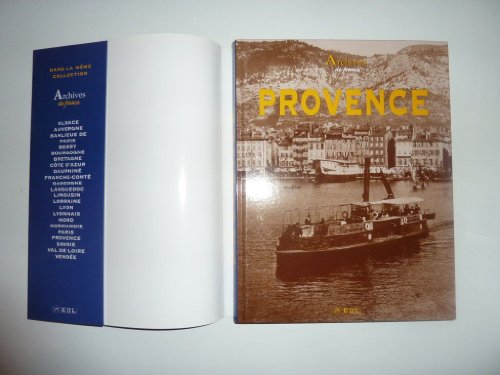 Archives de Provence par Jacques Borgé
