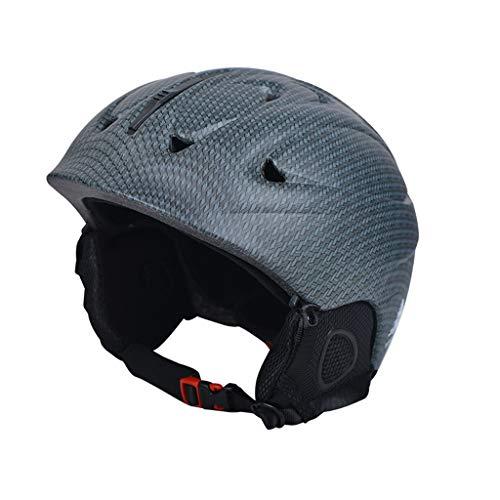 Lsrryd Ski Helm Schutzausrüstung Draussen Männer und Frauen Erwachsene Schneehelm Zum Fahrrad/Schlittschuh/Multi Sport Helm mit 6 Lüftungsöffnungen in Verbreitet