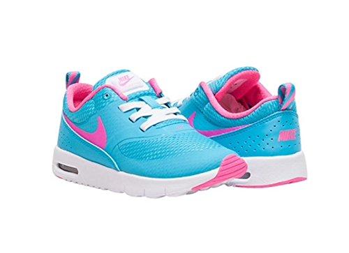 Nike Air Max Thea (Tde), Baskets Basses Bébé Garçon Bleu - Azul (Gamma Blue / Pink Blast-White)
